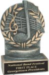 Wreath Resin Trophy -Music Music Trophy Awards